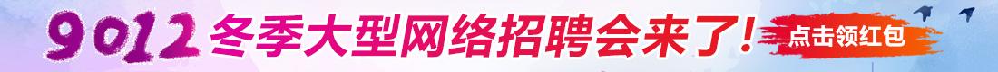 9102冬季大型网络招聘会